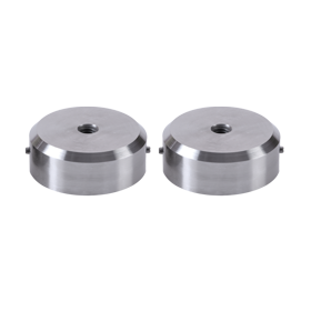 (6801E) Large Stainless Steel End Plugs